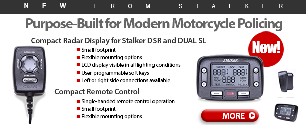 The new Stalker Compact Radar Display and Remote
